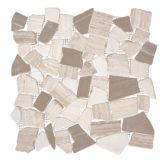 Euro Tile Stone Tumbled Icy White Bone Grey