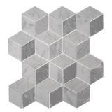 Euro Tile Stone 3-D Rombi Bianco