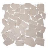 Euro Tile Stone Tumbled Icy White