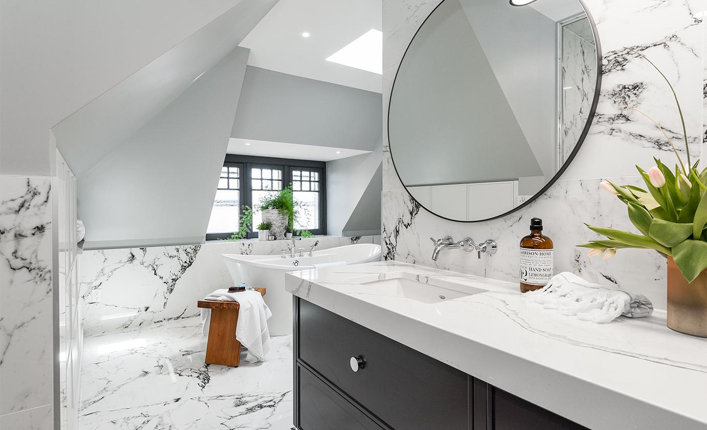 Euro Tile Stone Artium Bathroom Floor and Wall Tile
