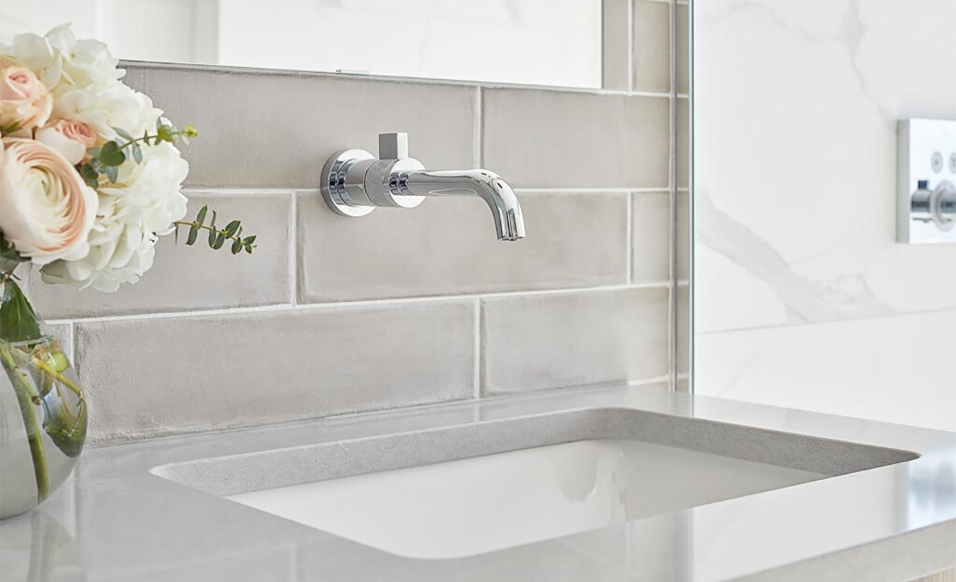 Subway Tile Backsplash Bathroom Astro Design Centre