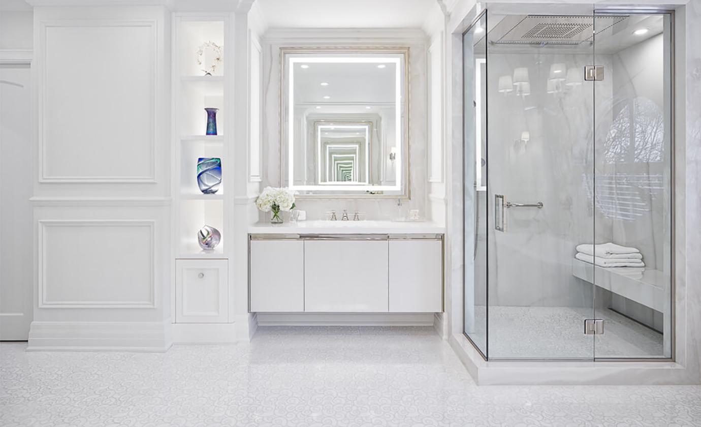 White Bathroom Astro Design Centre