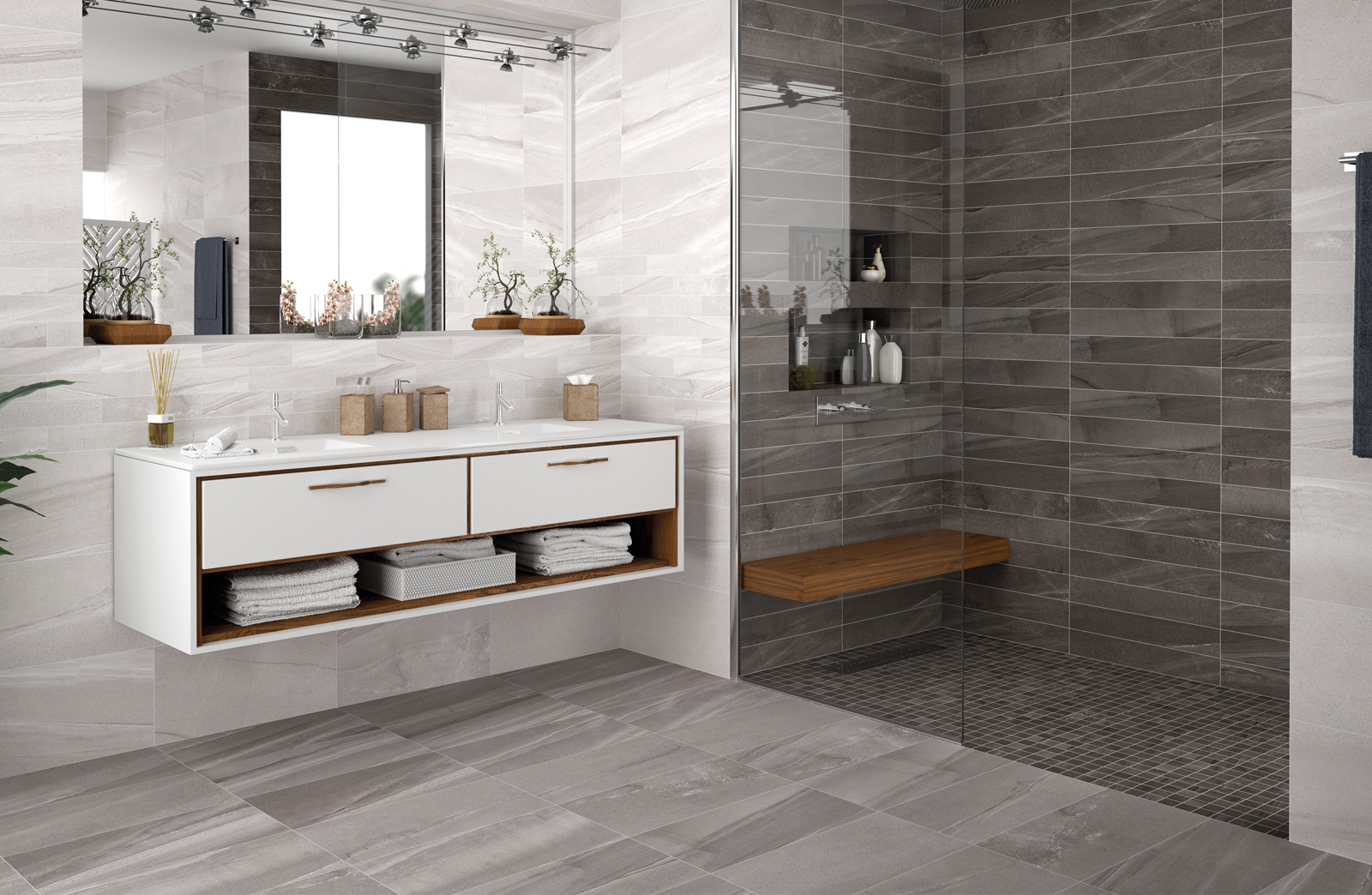 Euro Tile Ottawa >> euro-tile-stone-burlington-grey-bathroom - Euro Tile