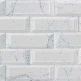 Euro Tile Stone Carrara Brillo Subway Tile