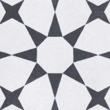 Euro Tile Stone Cuban White Star