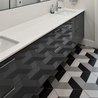 Hexagon Floor Bathroom O'Keefe Fiorenza