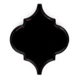 Euro Tile Stone Glossy Lantern Black