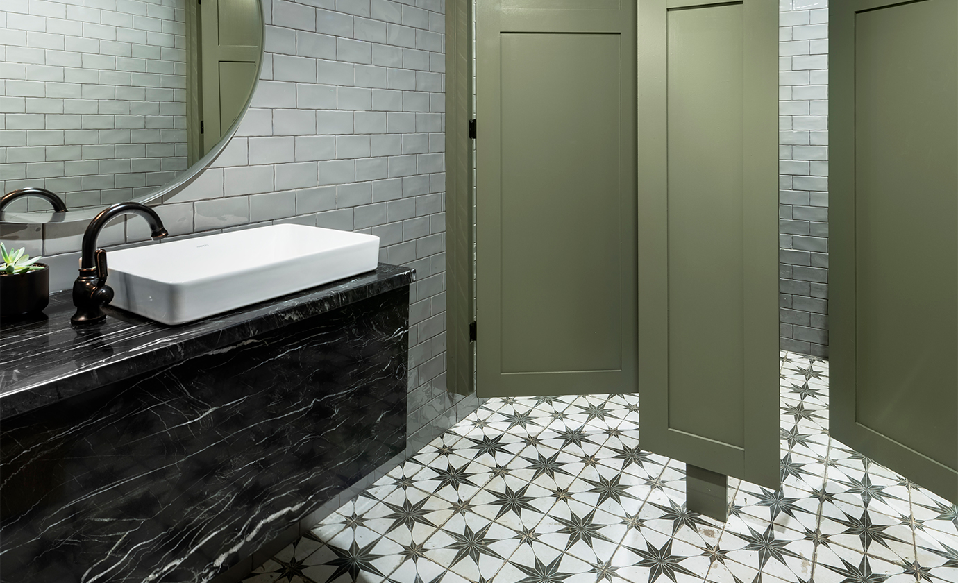 Henrietta Southam Clarendon Commercial Bathroom