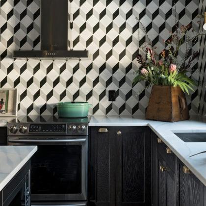 Geometric Kitchen Backsplash Henrietta Southam