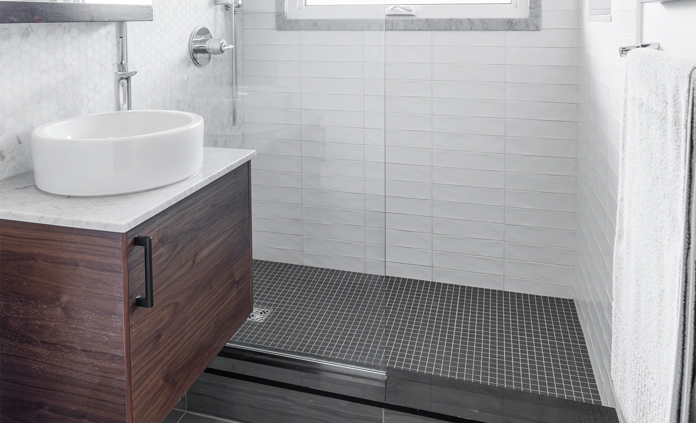 Iron and Ivory Residential Bathroom White