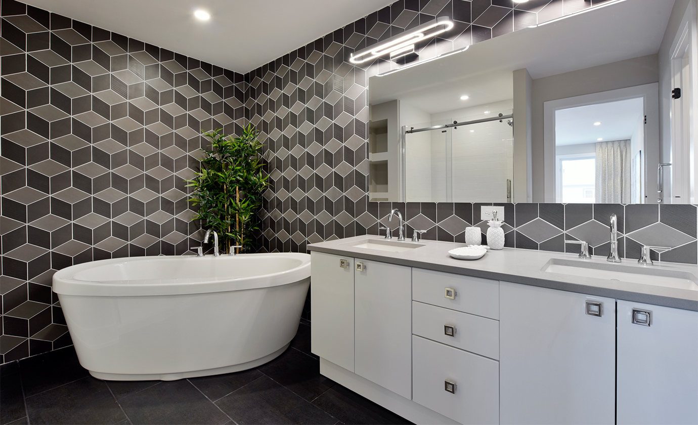 Pheonix Homes Geometric Bathroom