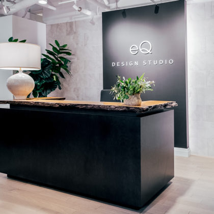 Euro Tile Stone West of Main EQ Deisgn Studio Reception