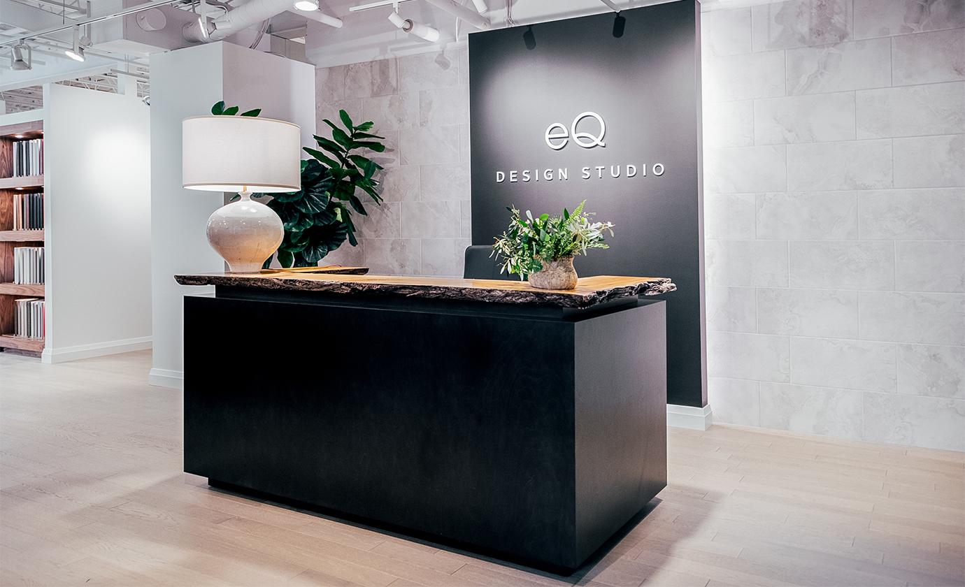 Euro Tile Stone West of Main EQ Deisgn Studio Reception