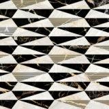 euro-tile-stone-i-marmi-bianchi-decori-prisma-oro
